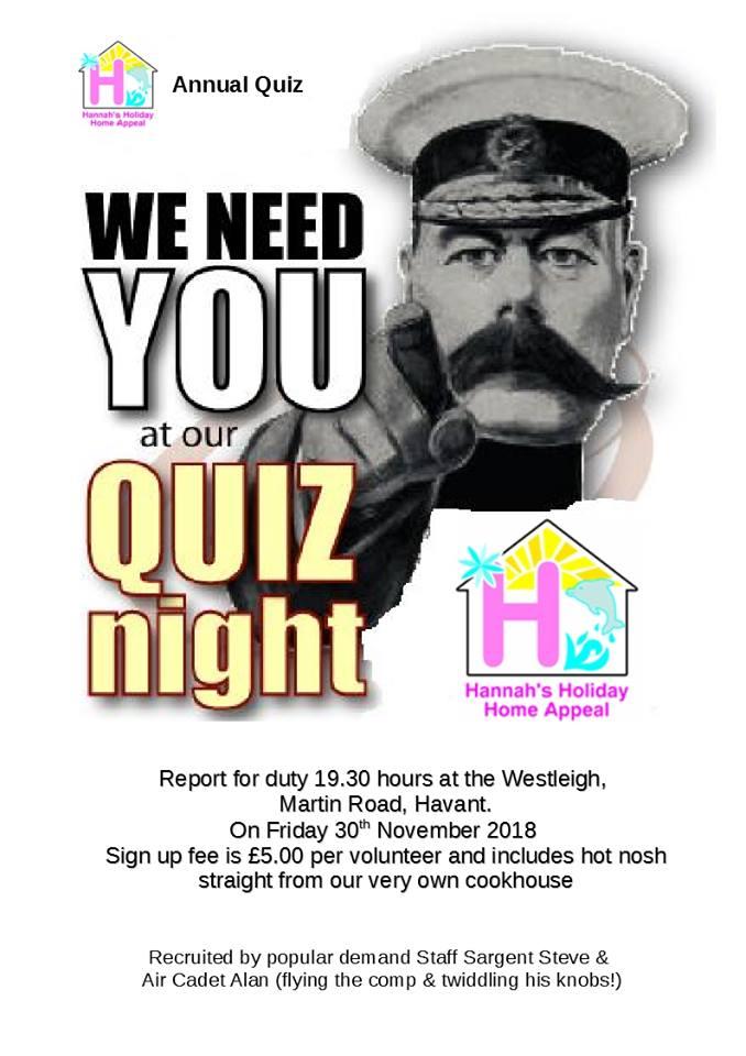 30th November Quiz Night